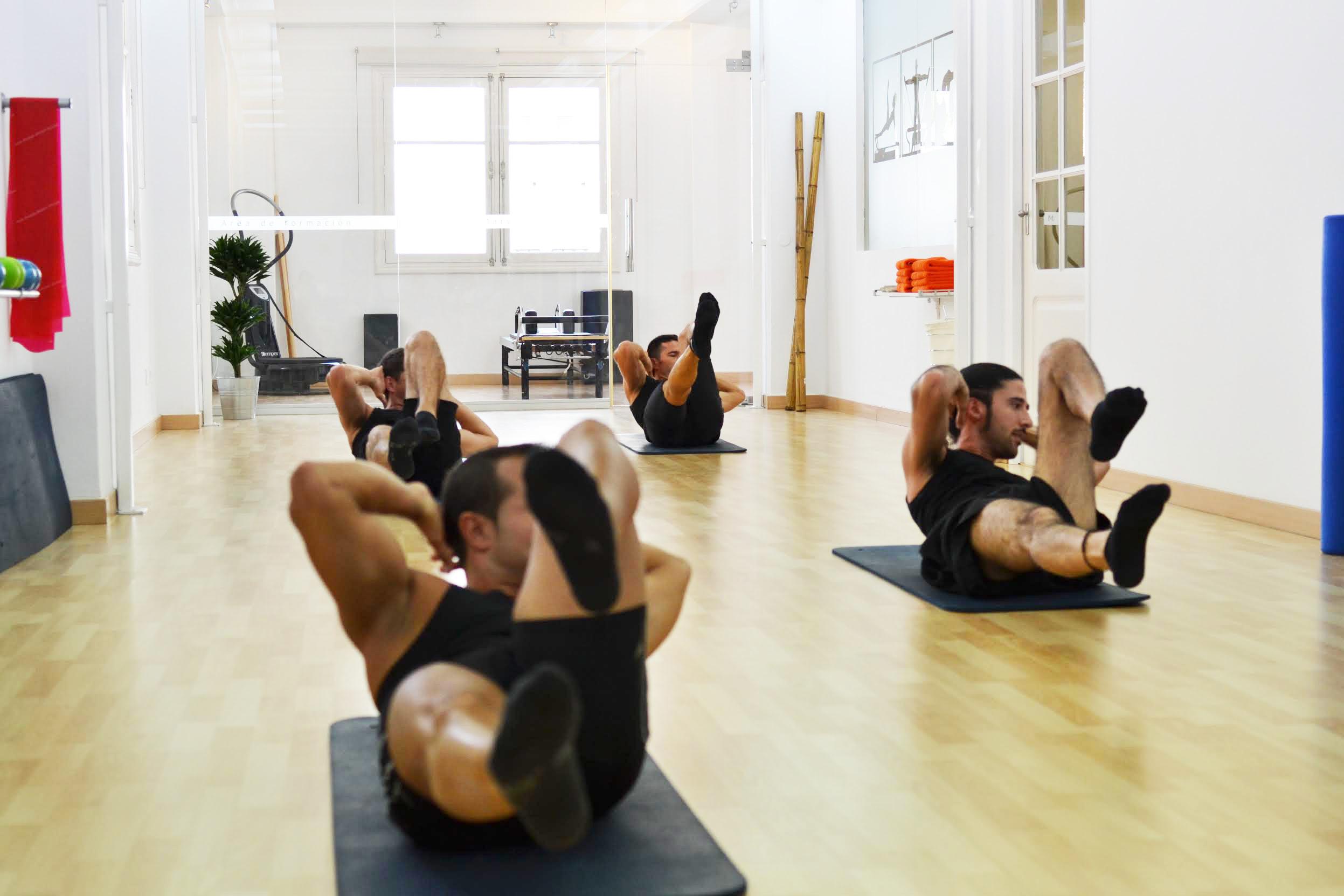 Pilates Estudio y Contrology Club · Personal Pilates Tenerife · Colchoneta