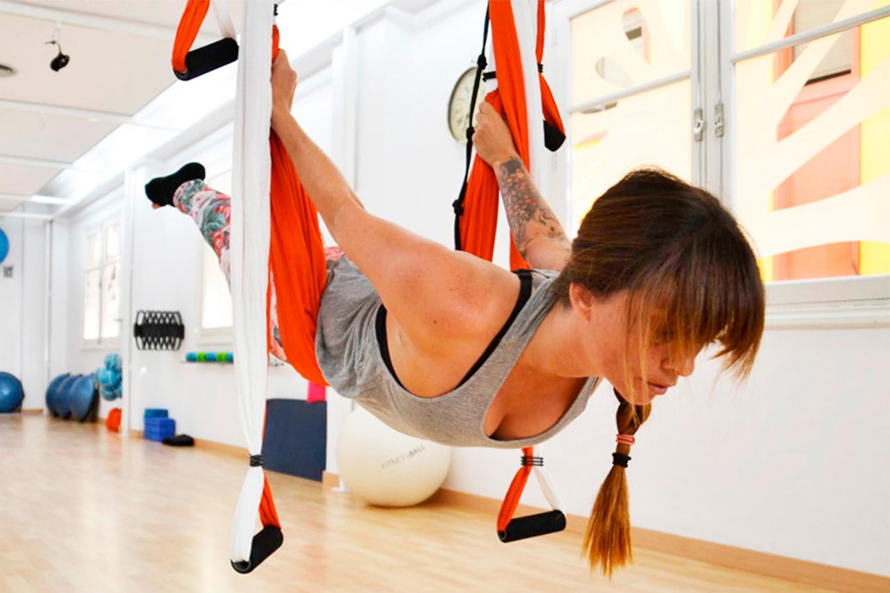 Pilates Estudio y Contrology Club · Personal Pilates Tenerife · Suspensión